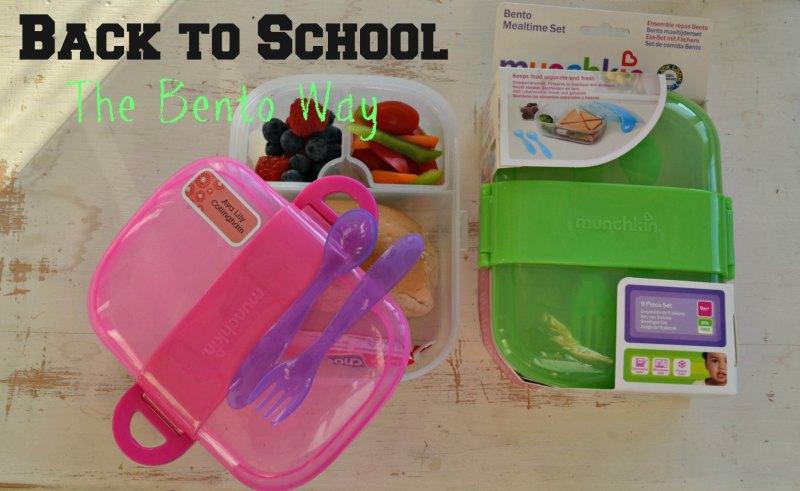Bento:  Back to School