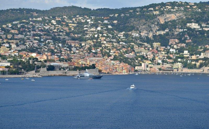 The French Riviera Coastline