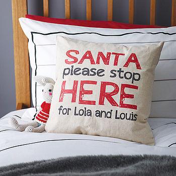 Children's Santa Cushion
