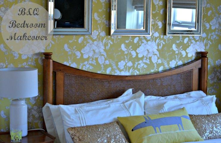 B & Q spring bedroom makeover