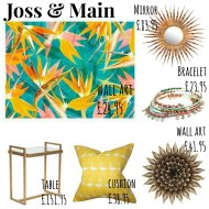 Joss & Main : £50 Voucher Giveaway
