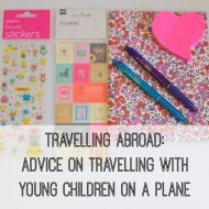 Travelling abroad: Advice on travelling with young children on a plane