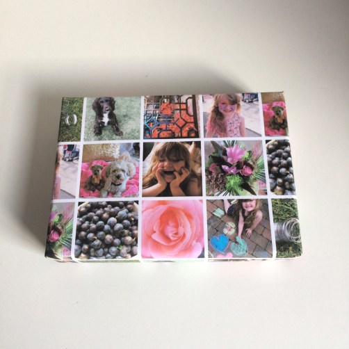 wrapping paper, that been personalised