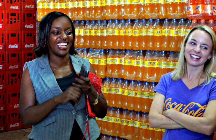 Tanzania : Coca-Cola and the 5by20 Project