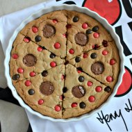 A Comic relief recipe : Red Nose, Cookie Pizza Pie. #RaiseSomeDough
