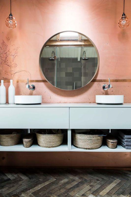Copper Blush Bathroom