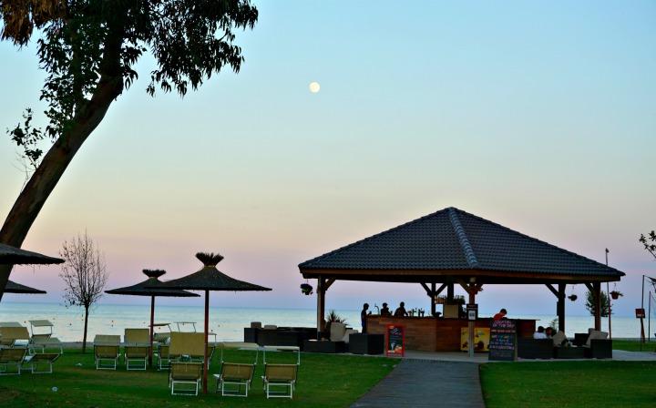 Mark Warner corsica sunset bar