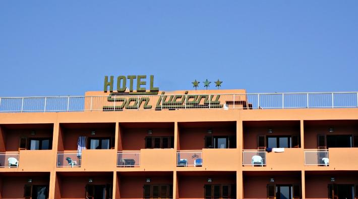 Mark Warner Corsica the hotel building