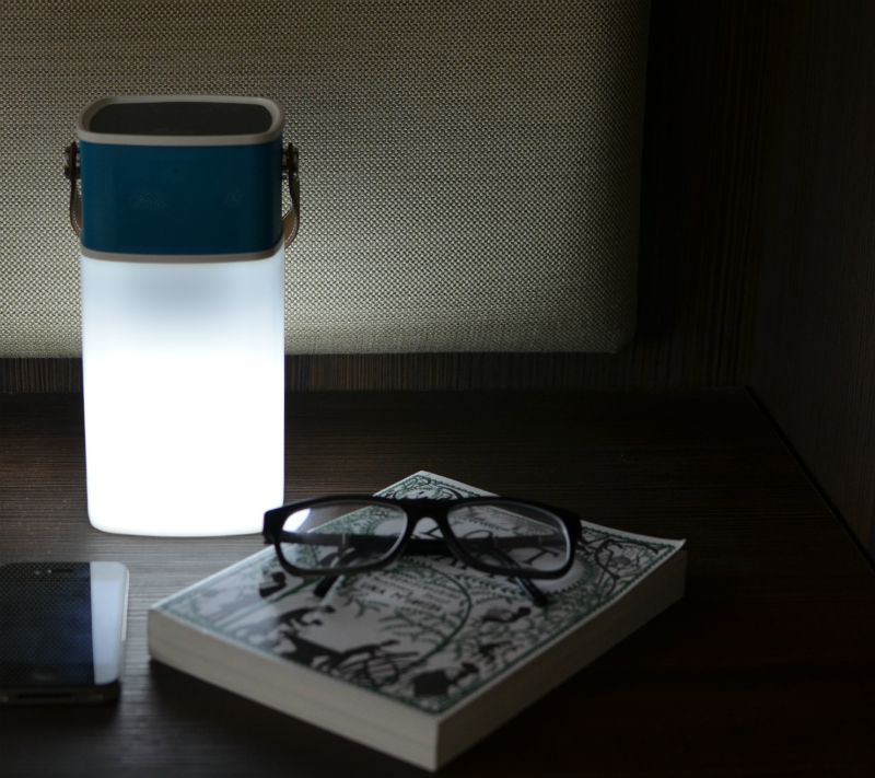 BrightSounds Lava bedside table