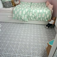 Free up your kid's bedroom with these handy space saving ideas.