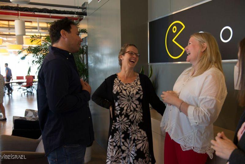 Google Campus Arik, Kelly and Amanda
