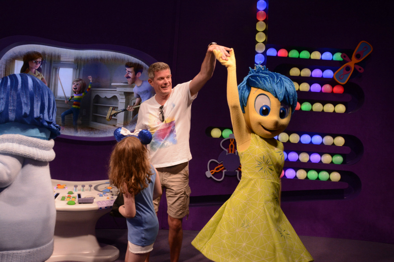 EPCOT+ inside out character