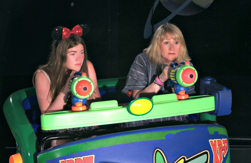 buzz lightyear ride nia and me on the ride