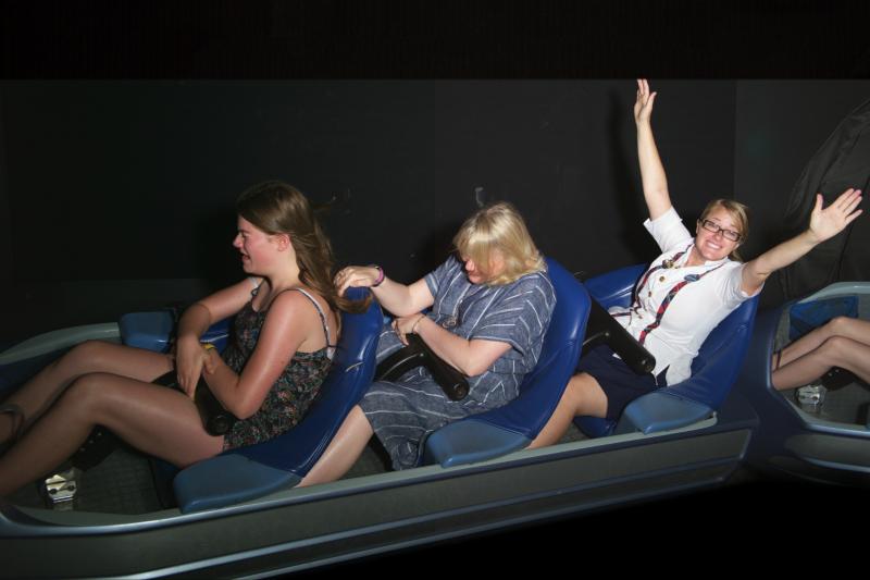 magic kingdom space mountain ride photo