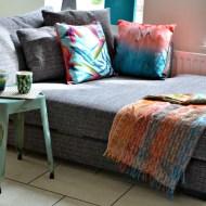 A New Sofa Two Ways :Photo Heavy Post