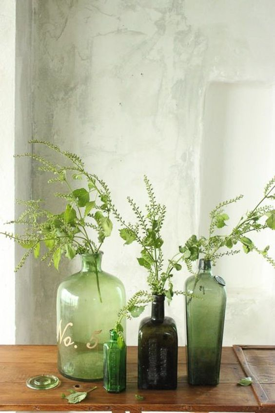 greenery spring 2017 interior trends