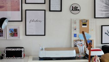 How to Etch a Design on a Mirror :Cricut Explore - The Ana