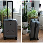 showing the front and side image of the Jay & Em luggage