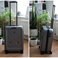 Carry on luggage with laptop bag – Jay & Em ONE