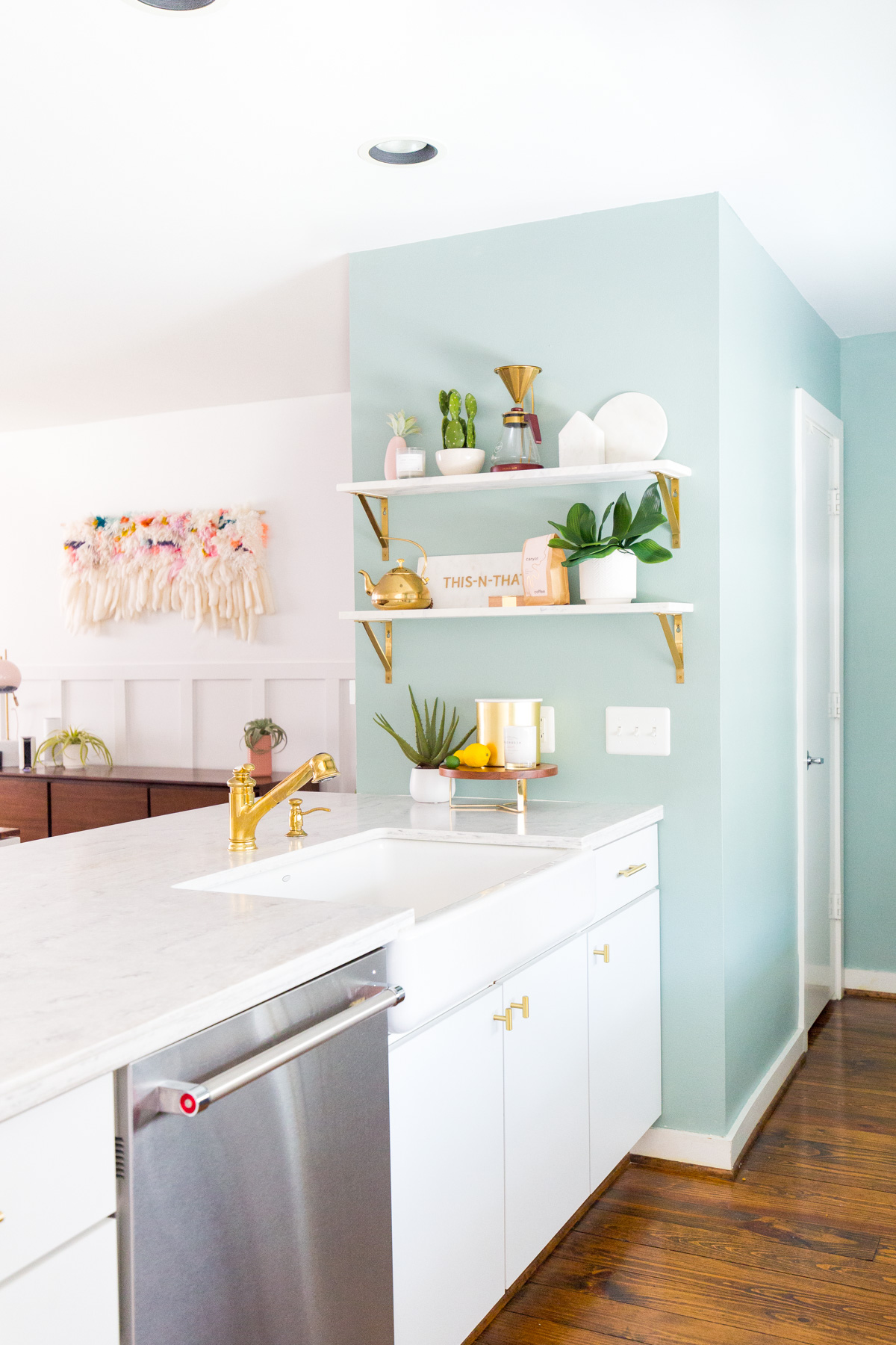 11 Kitchen Decorating Ideas for Your Walls   The Anastasia Co. on Kitchen Decoration Ideas  id=26211