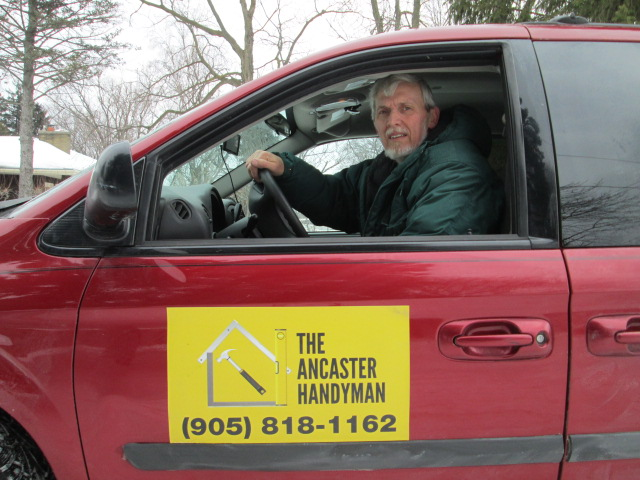 The Ancaster Handyman off to another project