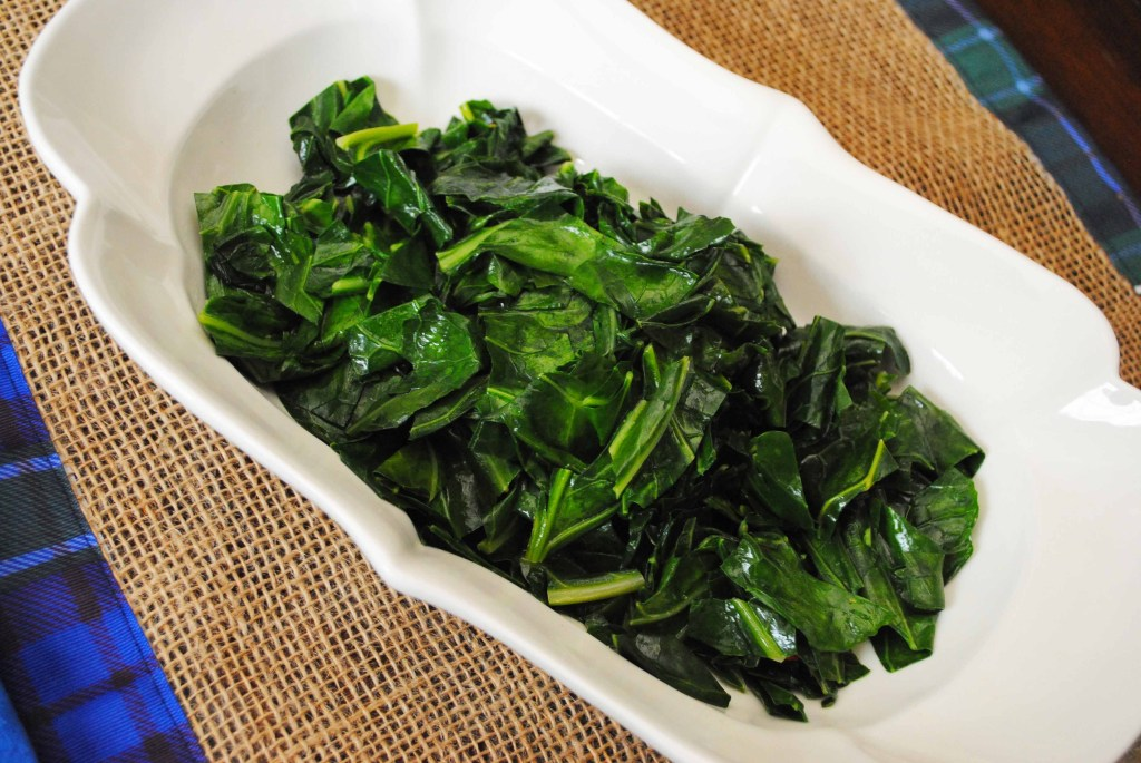Quick Cooking Collard Greens