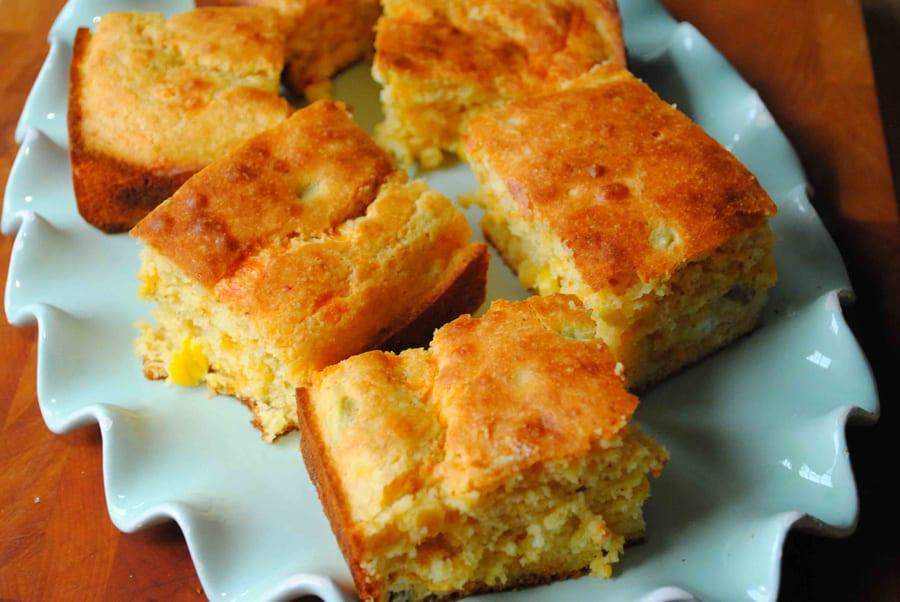 Buttermilk Jalapeno Cheddar Cornbread
