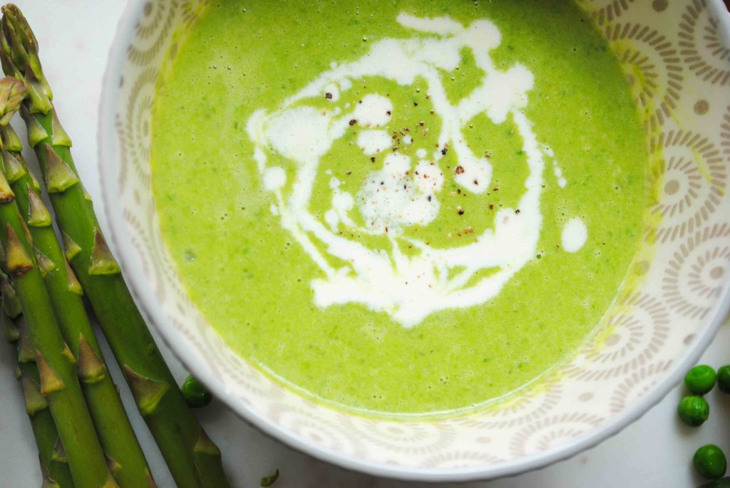Green Asparagus & Herb Soup