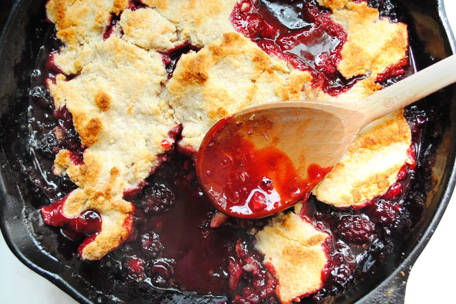 Twisted Balckberry Cobbler