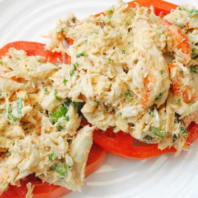 Shrimp and Crab Salad