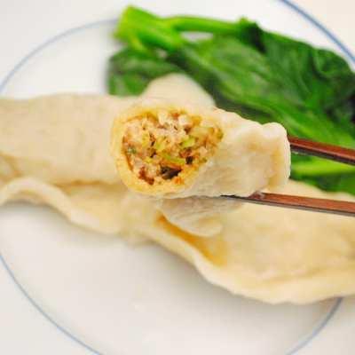 Pork & Shiitake Mushroom Potstickers