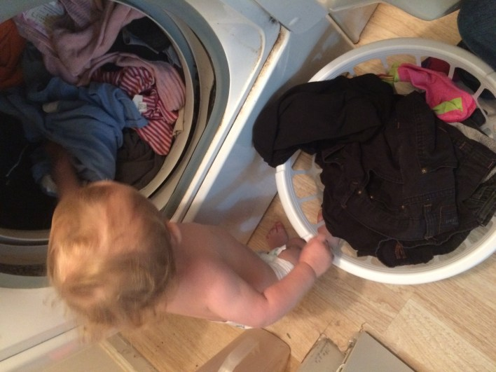 One of the ways I have my son help me around the house is with the laundry. Read on to see how else he helps me out!