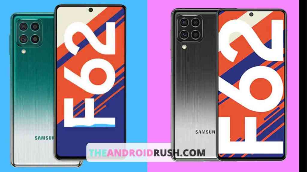 Samsung Galaxy F62 - The Android Rush