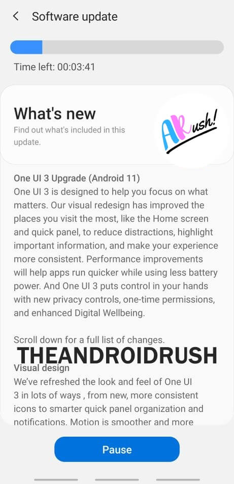 Samsung Galaxy M40 Android 11 Update Screenshot - The Android Rush