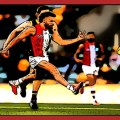 Dan Butler kicks a goal for St Kilda v Brisbane in Rd 13, 2020. Watch All The Goals.