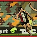 Jack Steele celebrates a goal during the St Kilda v GWS match played during Round 18 of the 2020 AFL season.