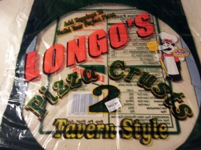 PIZZA LONGO'S CRUSTS
