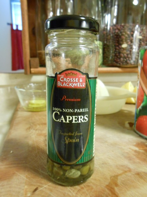 CROSSE & BLACKWELL CAPERS