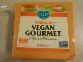 FOLLOW YOUR HEART VEGAN GOURMET CHEDDAR BLOCK