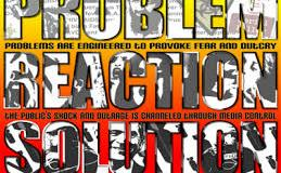 Formula For Societal Reconstruction:  Crisis – Reaction – Solution