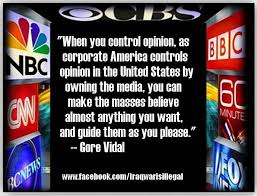 corporate control of media
