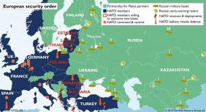 NATO is provoking Russia by surrounding it with weapons and troop buildup