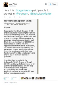 Advertisement To Pay Protestors Funded By George Soros
