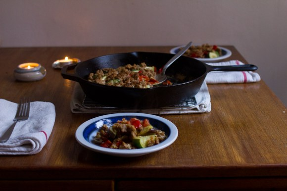 The Answer is Always Pork | Summer Vegetable Crumble