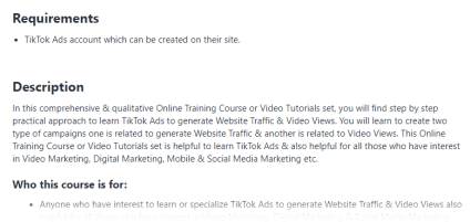 Learn TikTok Ads to generate Website Traffic & Video Views