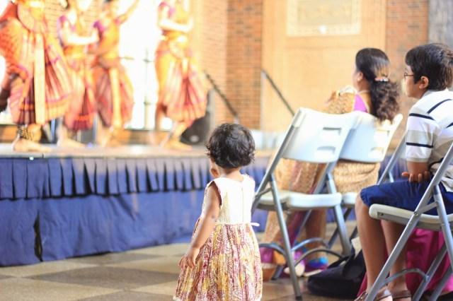 India. Dancing