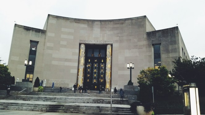 New York girls trips 2015. Brooklyn Public Library