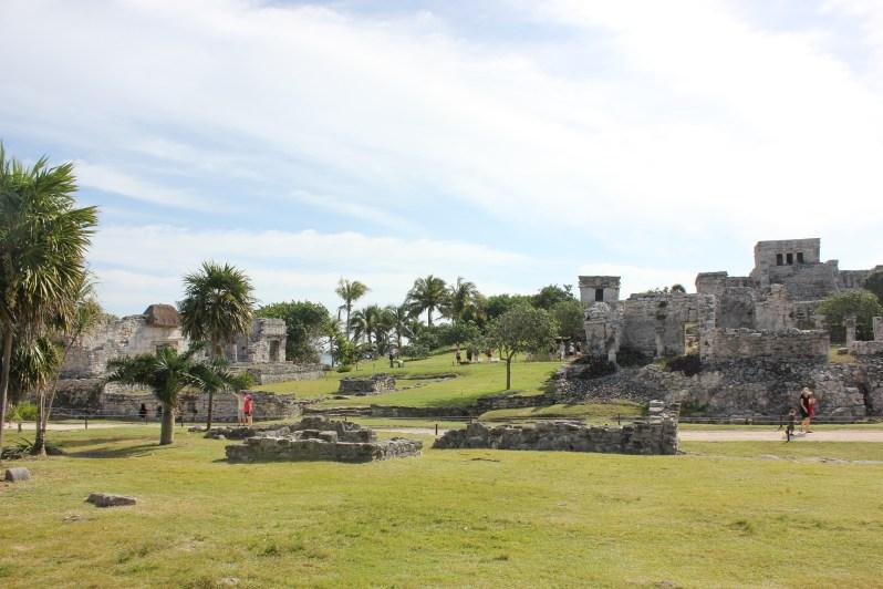 Ruins at Tulum, Mexico