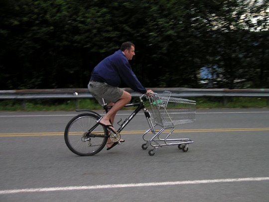 The Cart Bike