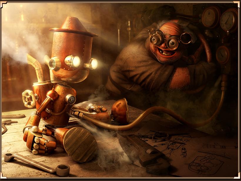 Steamnocchio by Fabricio Moraes from Brazil